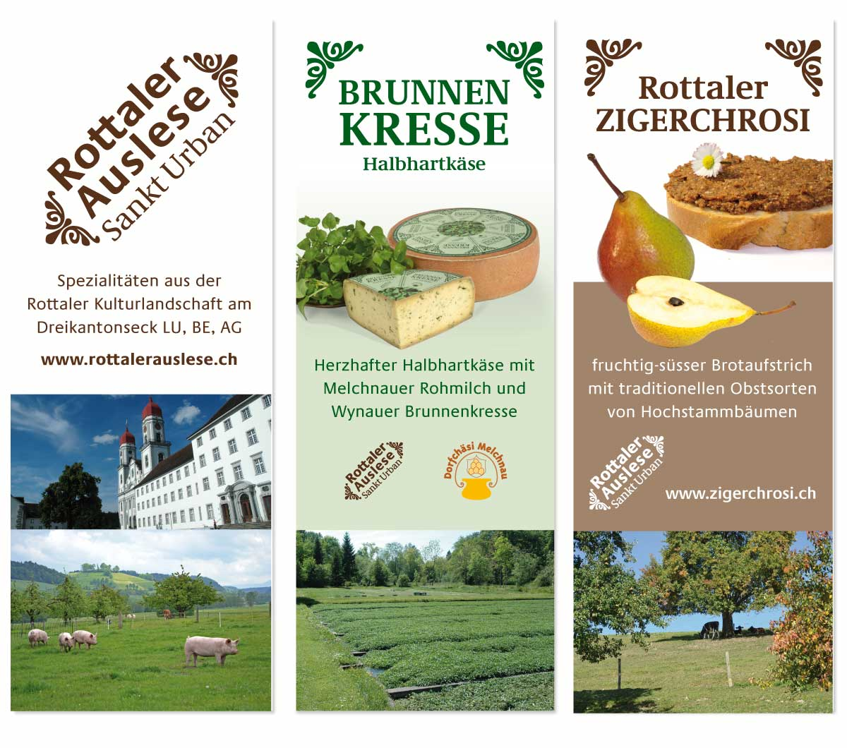 Marketing für regionale Produkte - Roll-Ups für den Messen-Auftritt